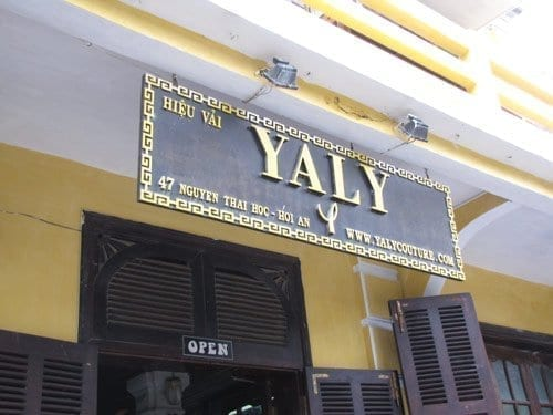 Yaly tailor in hoi an, vietnam
