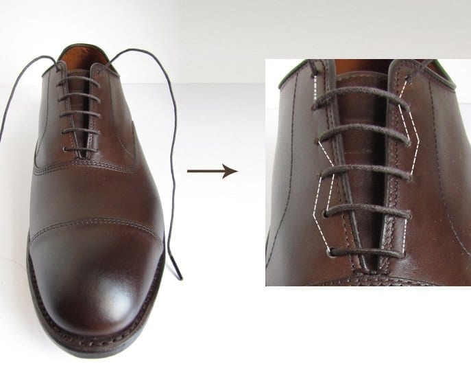 How To Bar Lace Shoes With  Holes