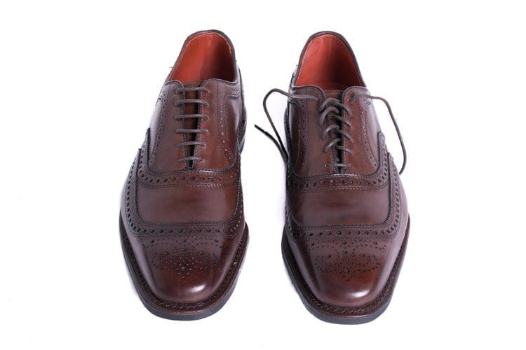Straight laced oxford brogue