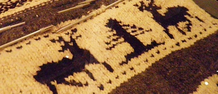 Authentic Cowichan Tribal Blanket, The Inspiration For The Dude's Pendleton Cardigan