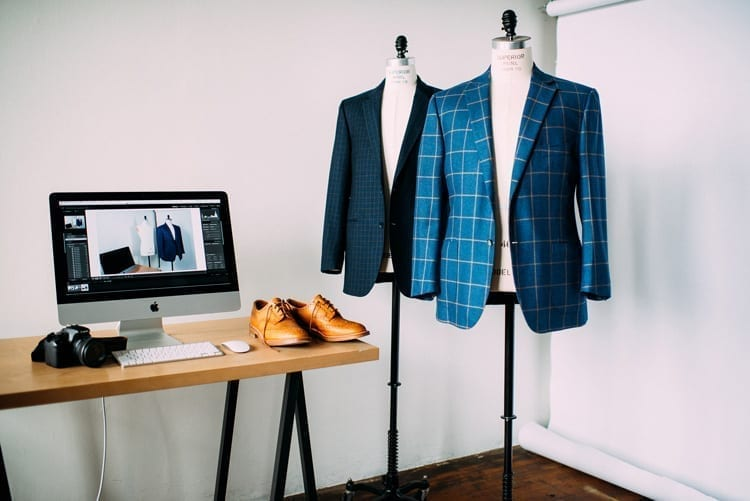 Photos of the Menswear Market studio