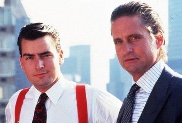 Charlie Sheen and Michael Douglas, stars of the original Wall Street.