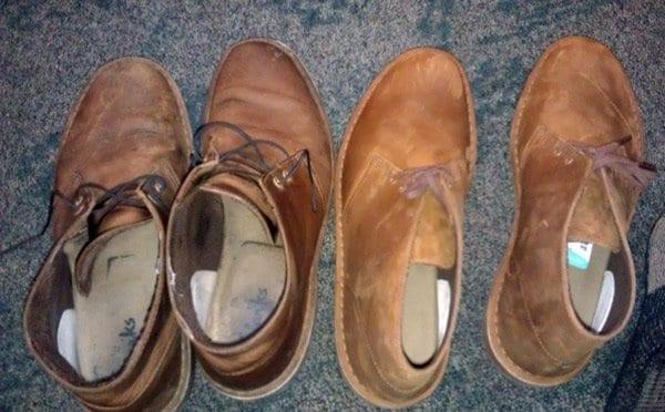 clarks desert boots break in period