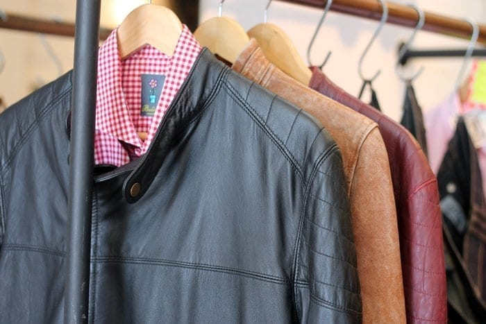 leather jackets at bolivia palermo buenos aires