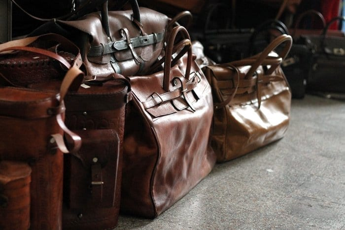 leather bags vintage san telmo