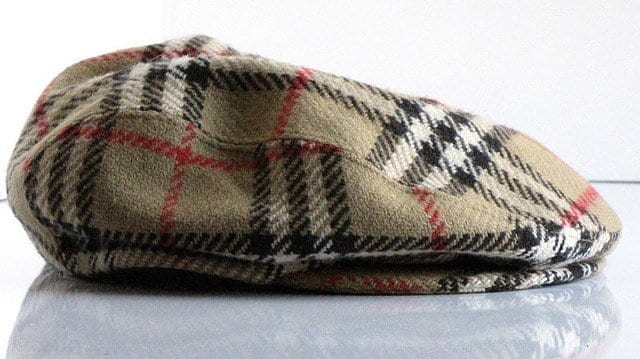 Burberry newsboy flat cap