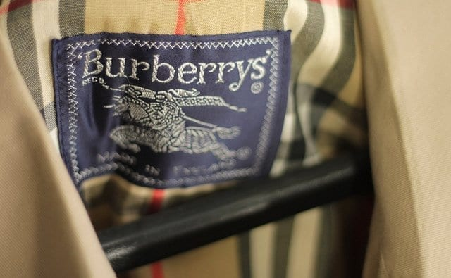 burberry trench coat inside pattern