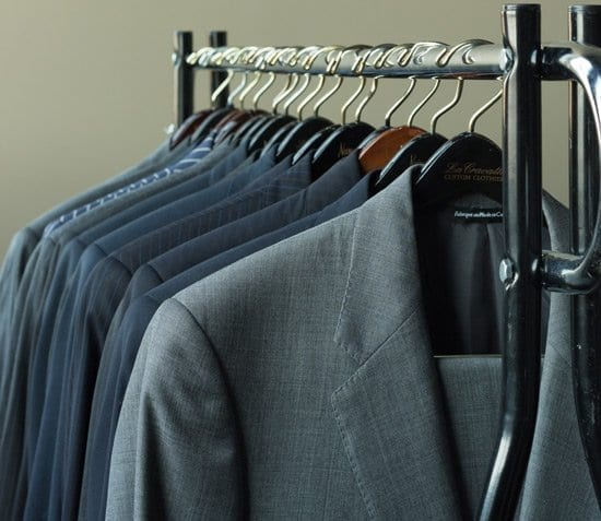slim fit suits with narrow shoulders