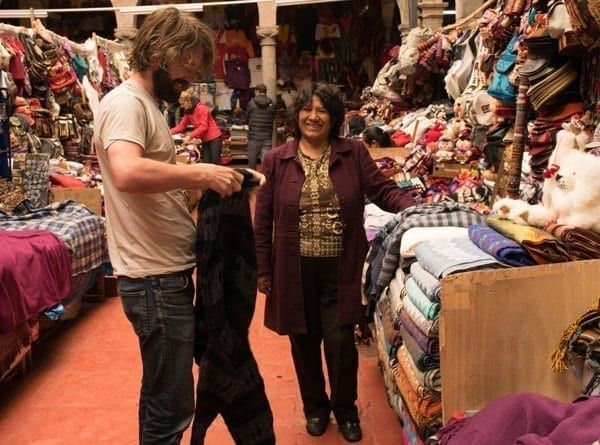 mountain city of cusco shopping experience
