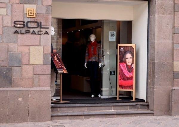 sol alpaca sweater boutique cusco