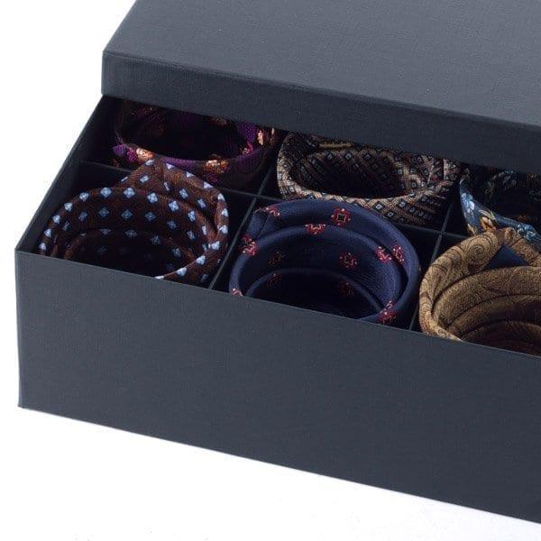 tie storage box