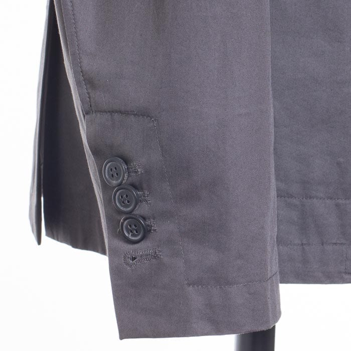 functional cuffs on a double breasted sport coat by Lanvin