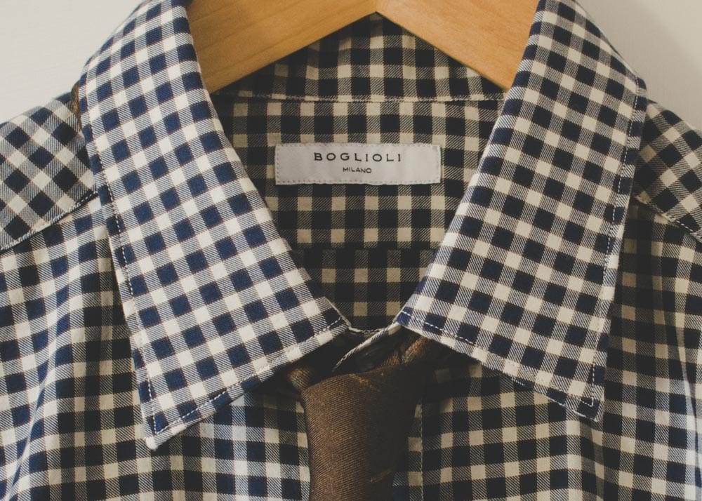 Shirt by Boglioli Milano Italy