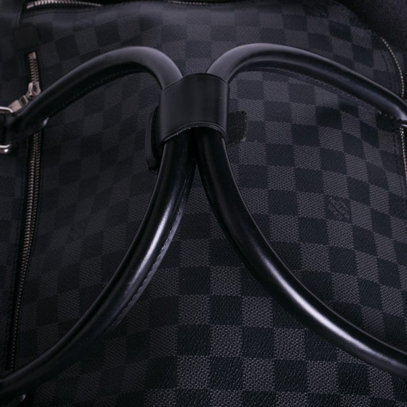 LV Duffel Bag, Gray