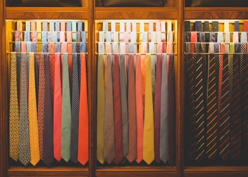 Tie Display, Battistoni Roma