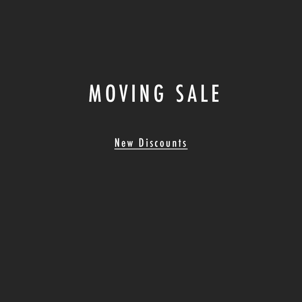 men's consignment shop moving sale