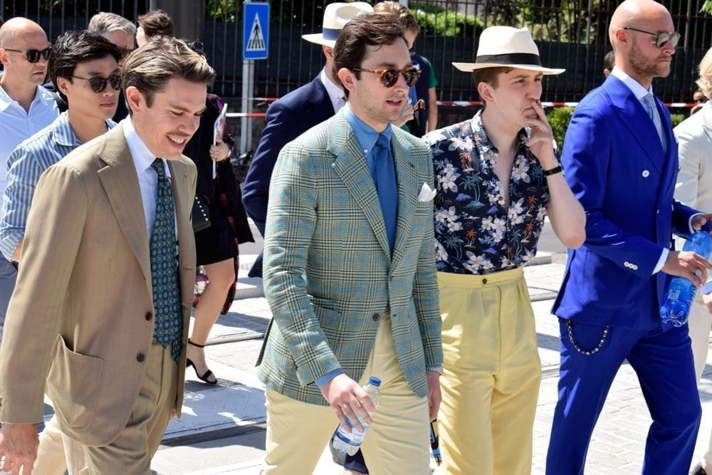 Men at Pitti