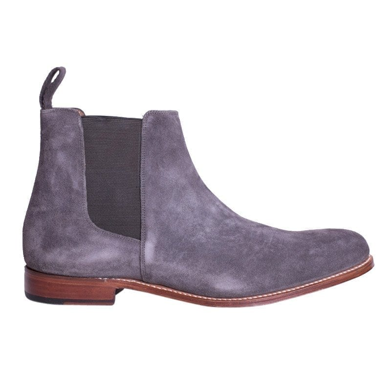 Declan Suede Chelsea By Grenson, Side View