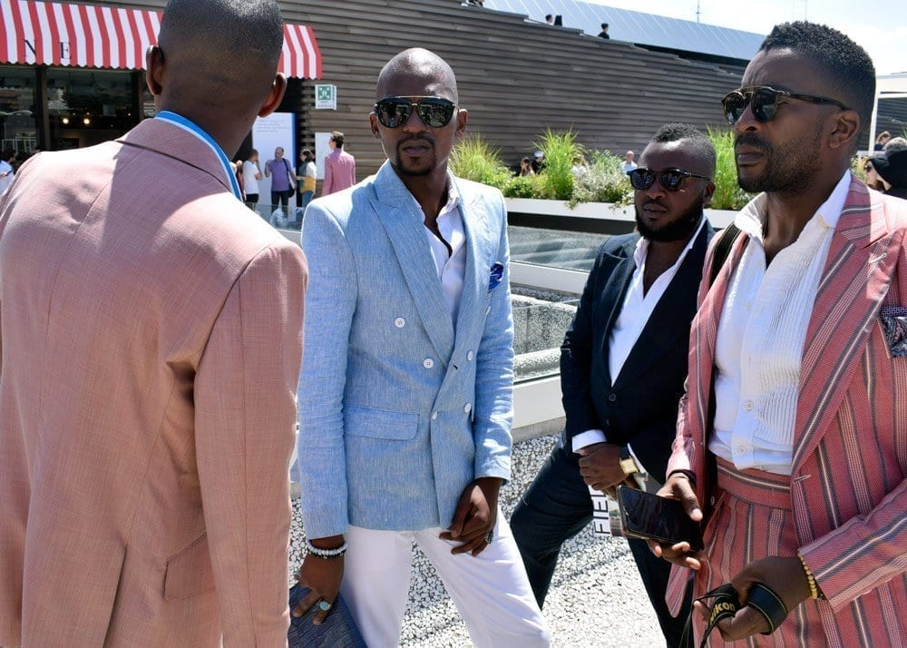 Men's Suits, Street Style, 2018