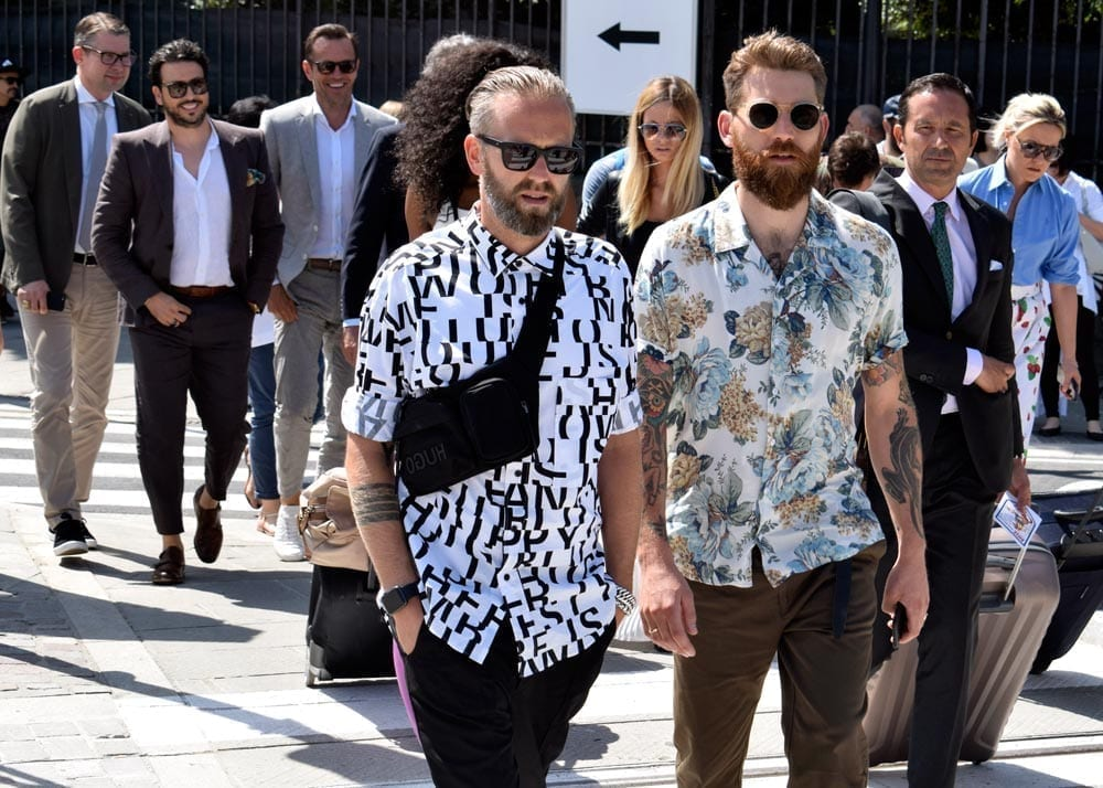 Print Shirts, Pitti 94, Firenze, Street Style Photos