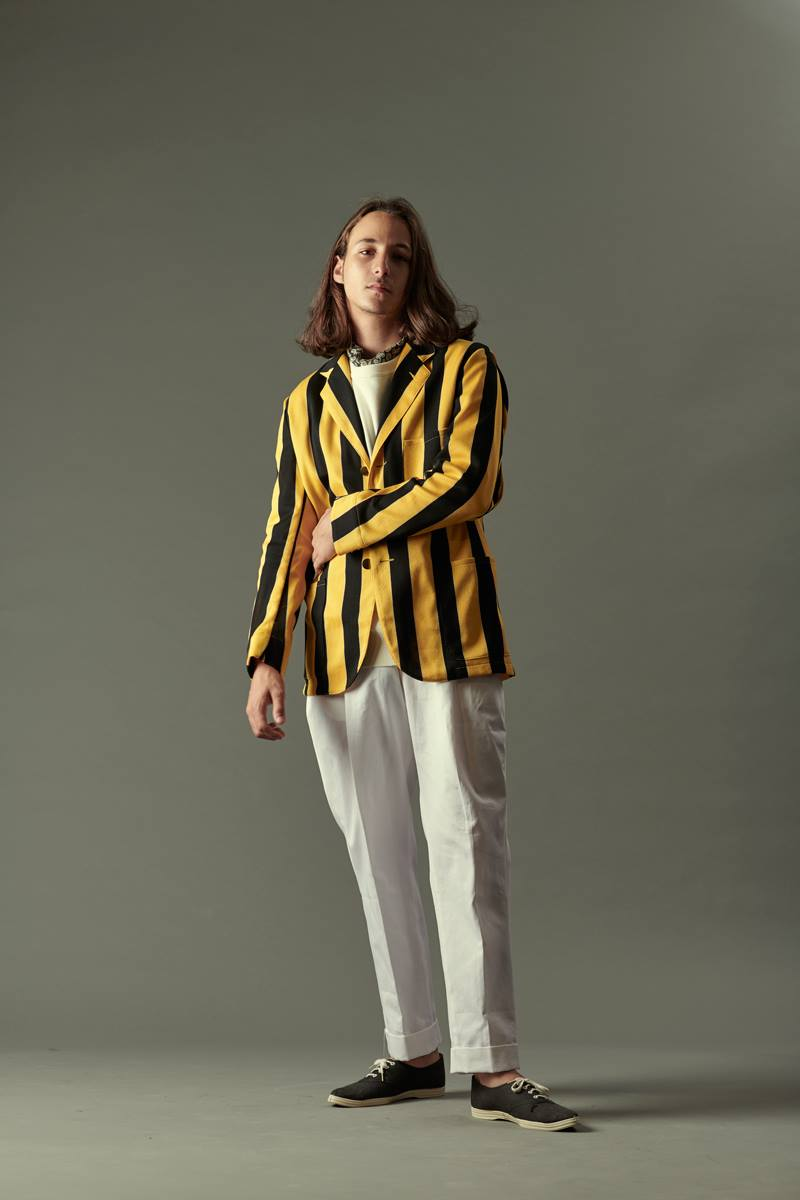Yellow Stripes, Haversack Lookbook