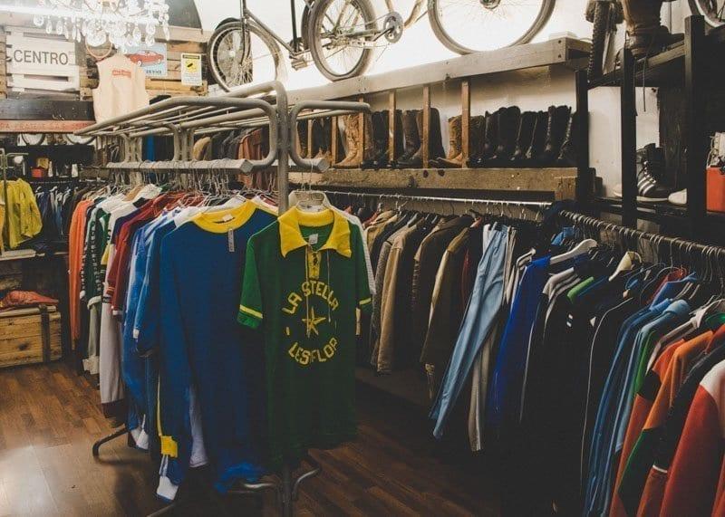 Melrose, inside store