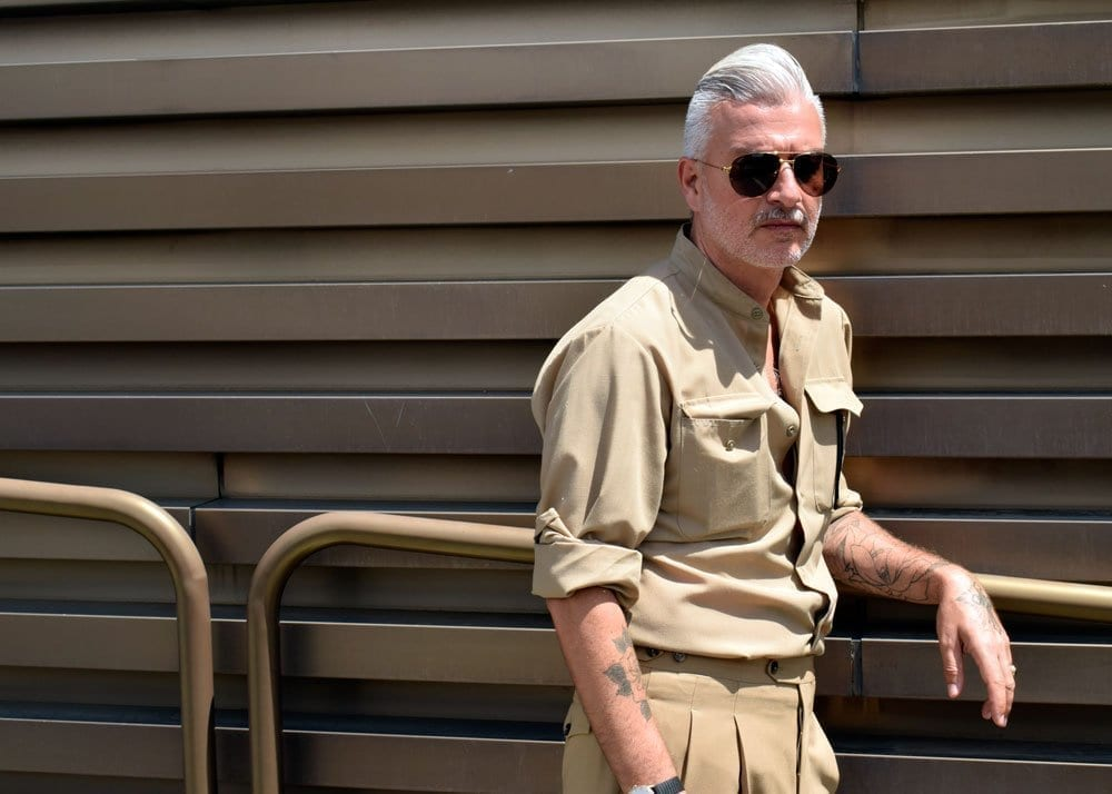 Military Style at Pitti Uomo 94