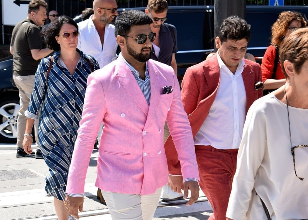 Wearing Pink at Pitti Uomo, 2018