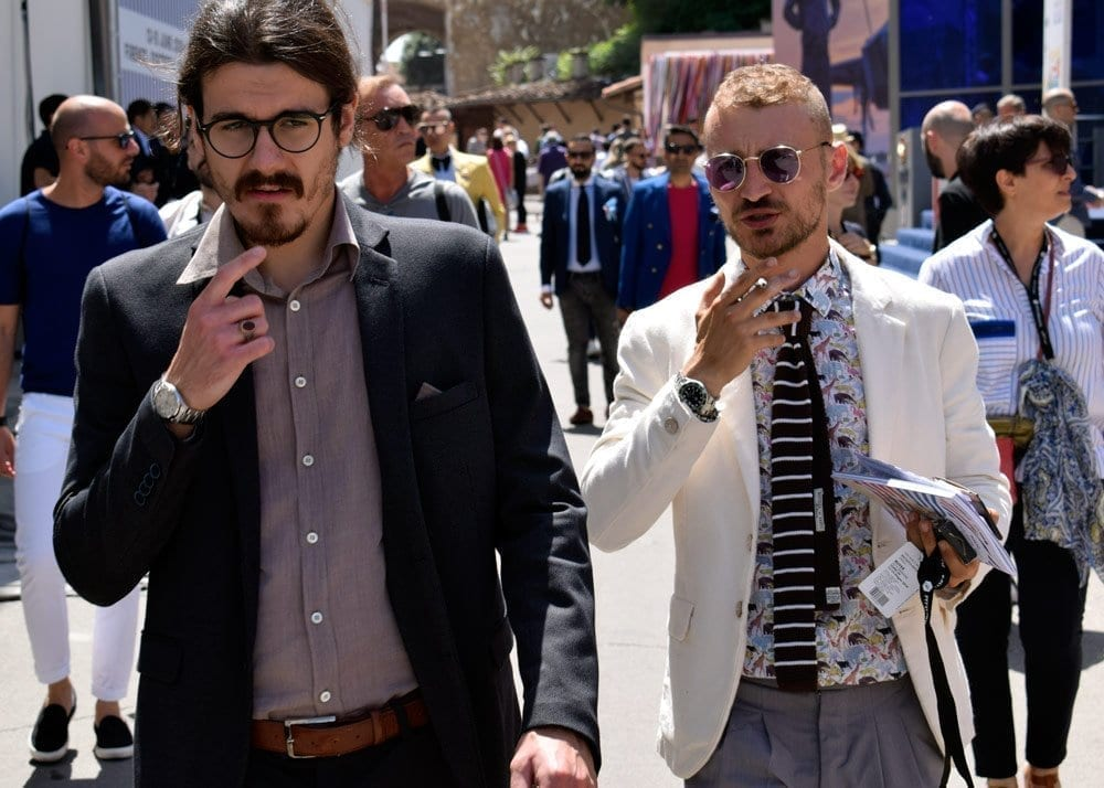 Men at Pitti Uomo 2018