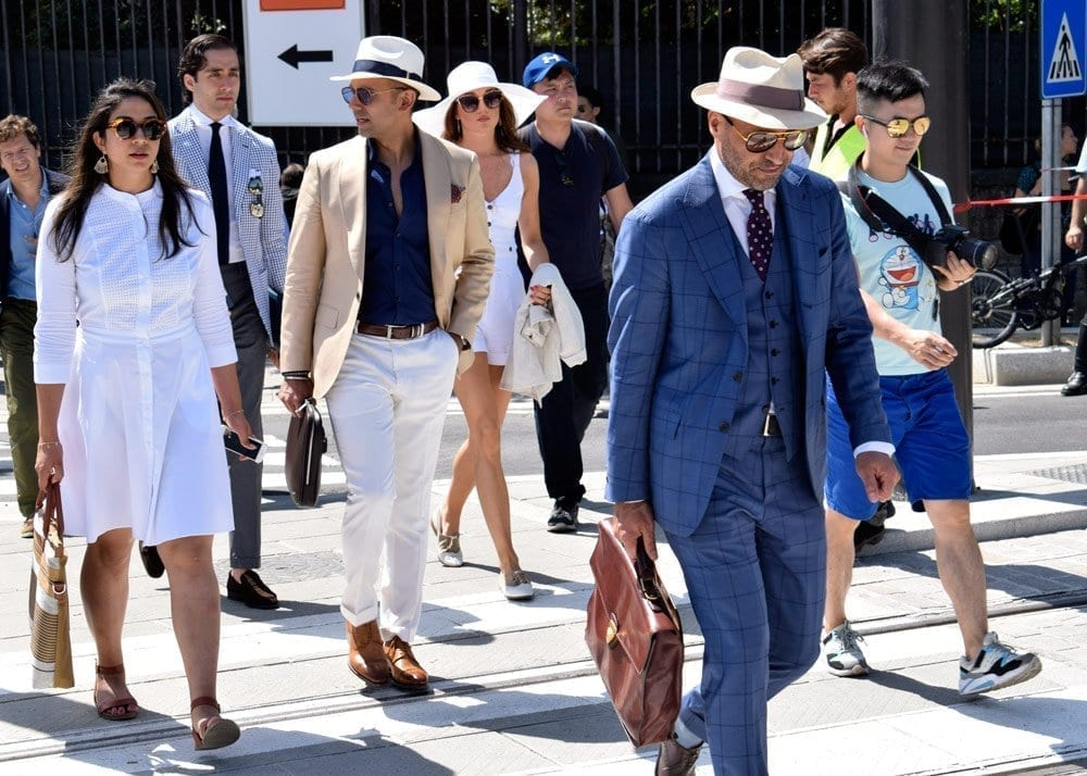 Suits and Hats, Pitti Uomo 2018