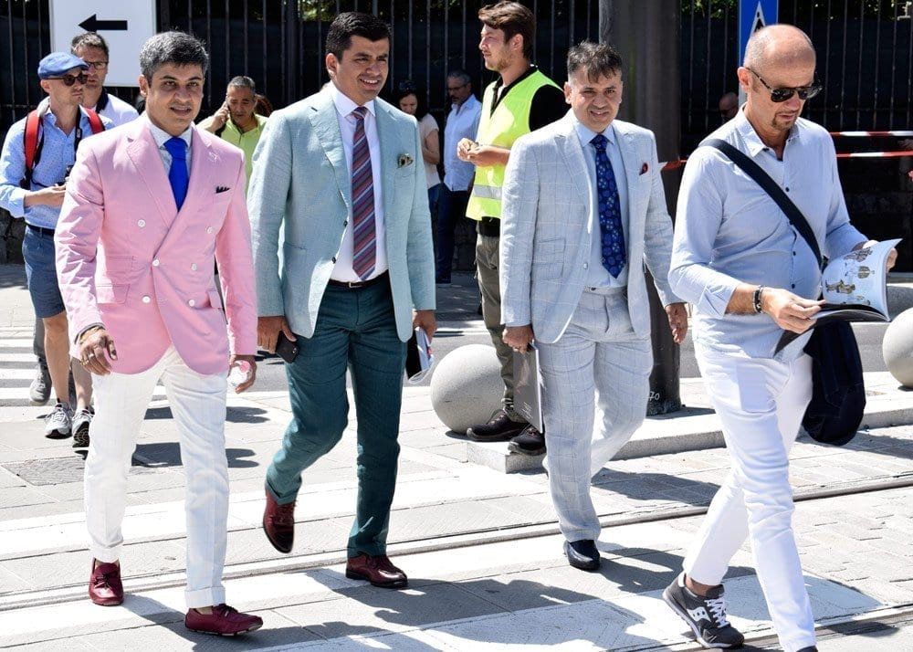Suits, Pitti 2018