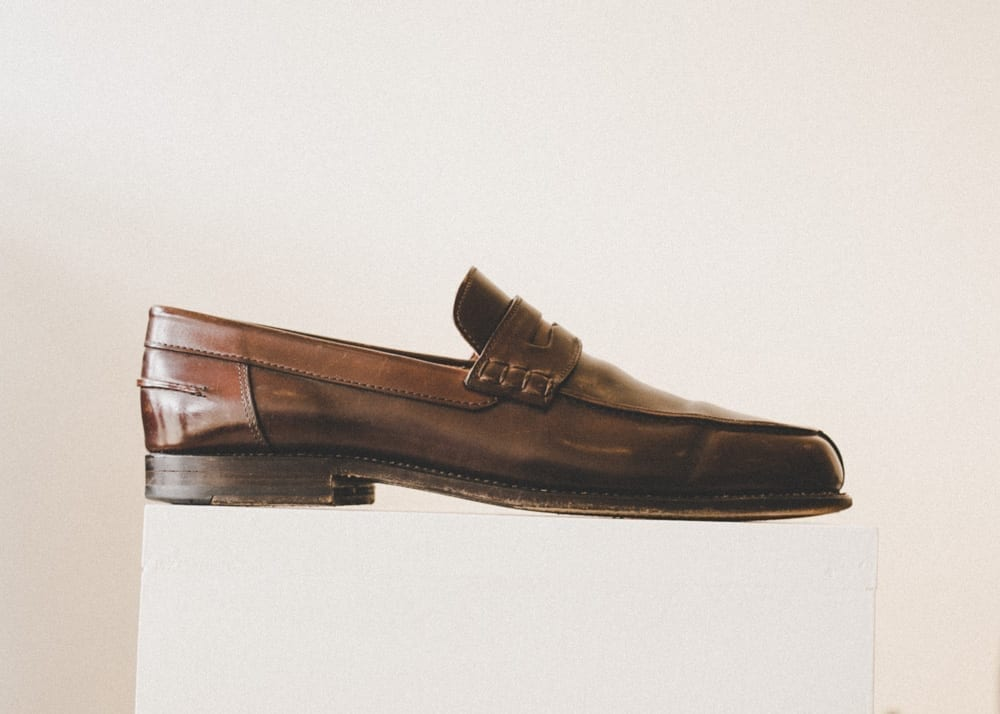 Shell cordovan, penny loafer