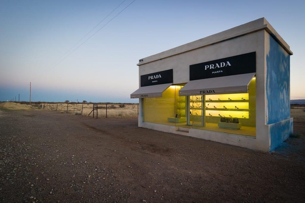 Prada store in Marfa
