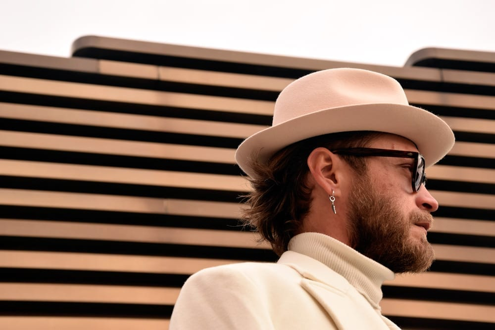 Hat, turtleneck, Pitti Uomo 95 looks
