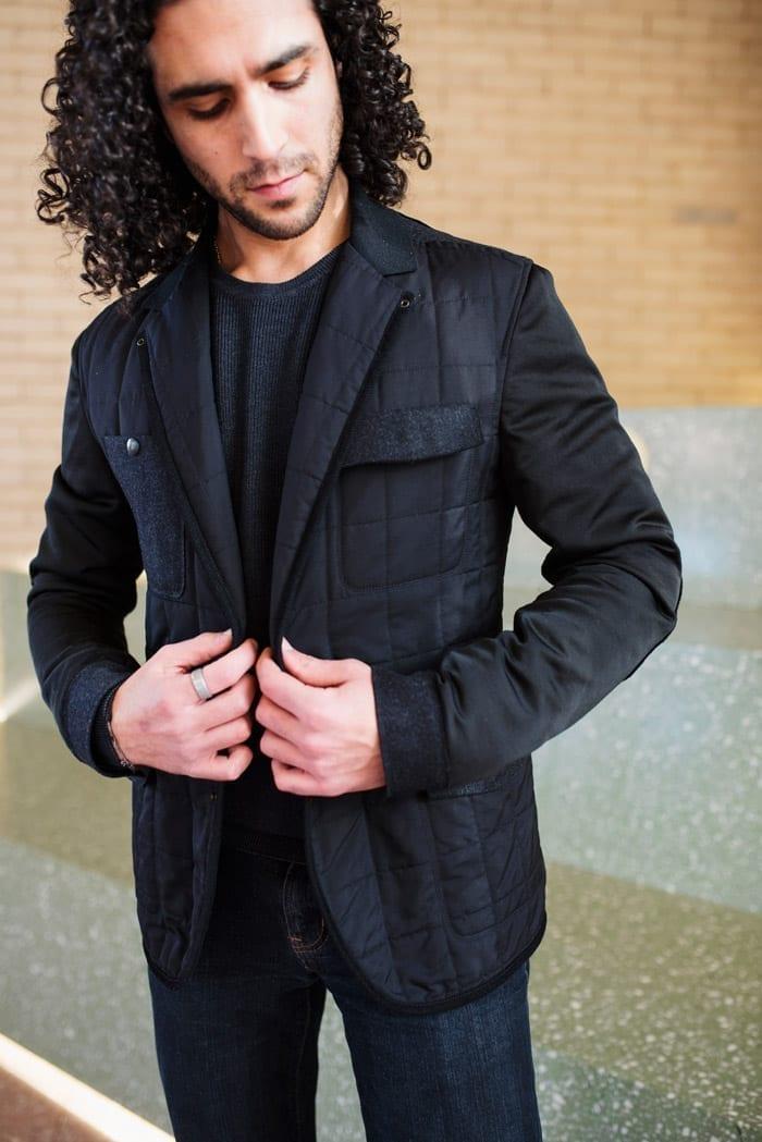 quilted jacket, men's Lanvin Paris