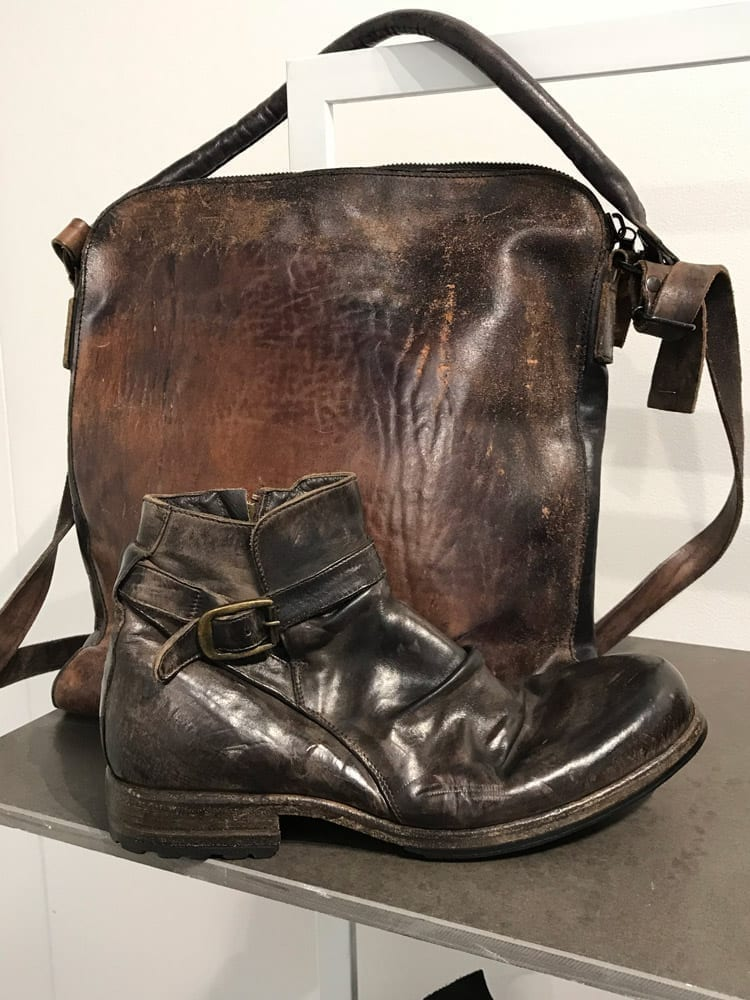 Leather goods by Shoto, Italy
