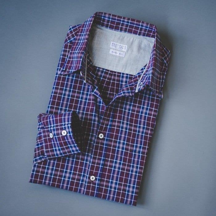 sport shirt, brunello cucinelli