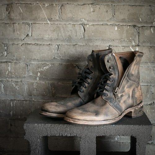 motorcycle boots, john varvatos
